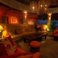 Casa Colibri living area