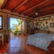 Main bedroom Casa Celeste Punta el Custodio, Nayarit, Mexico