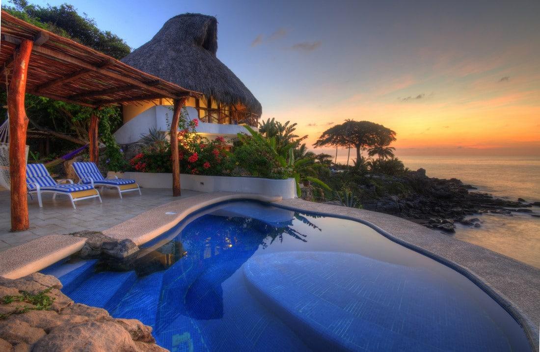 Mexico Beach House Rentals Pool