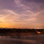 Night above Punta el Custodio and Playa Tortugas