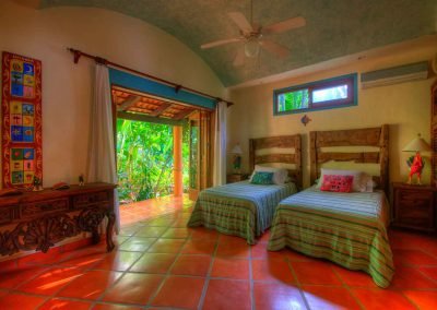 Third bedroom villa rental Nayarit Celeste