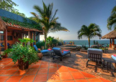 Oceanfront villa for rent casa Celeste, Nayarit