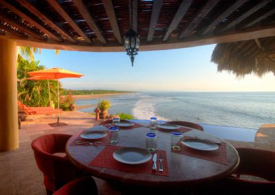 Dining at Lazuli, Punta el Custodio