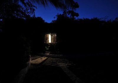 Casa Iguana by night