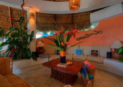 Living area Casa Iguana