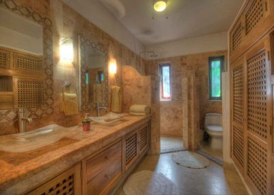 Master bathroom Corona del Mar