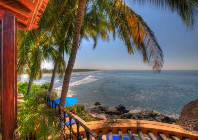 Oceanfront vacation rental Nayarit Mexico