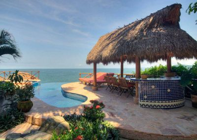 Oceanfront villa in Mexico