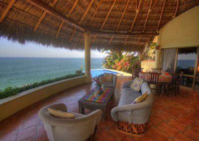 Oceanfront villa rental Nayarit