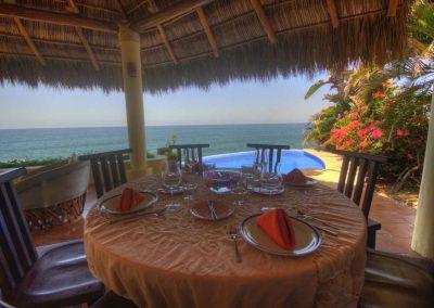 Oceanfront villa rental Voz del Mar