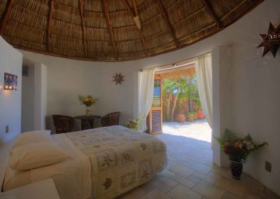 Third bedroom in separate casita