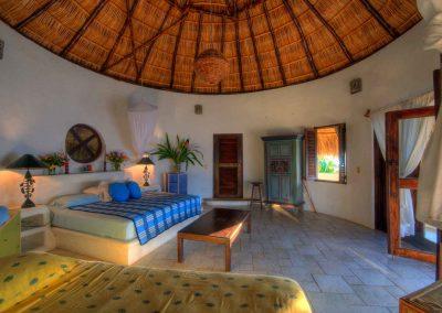 Upper bedroom Casa Iguana