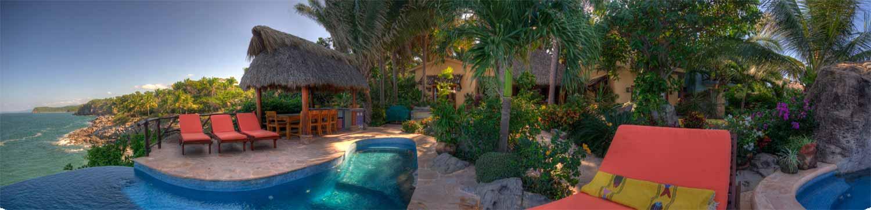 Oceanfront luxury villa