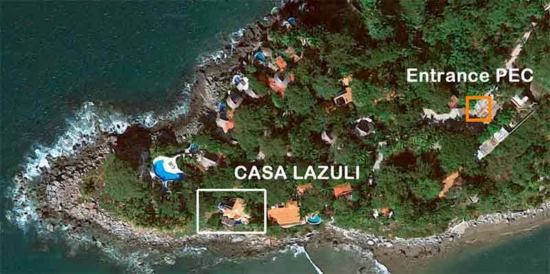 Location Lazuli on google maps