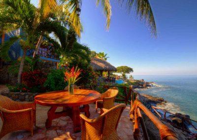 Ocean view from Corona del Mar