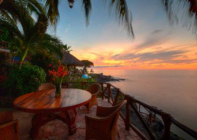 Luxury villa with ocean view