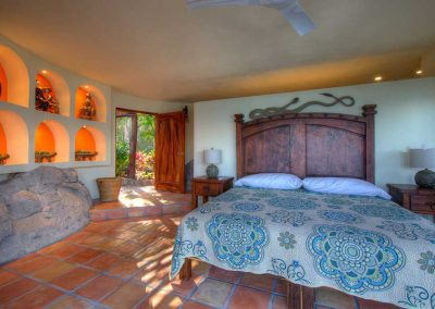 Master bedroom Casa Paraiso