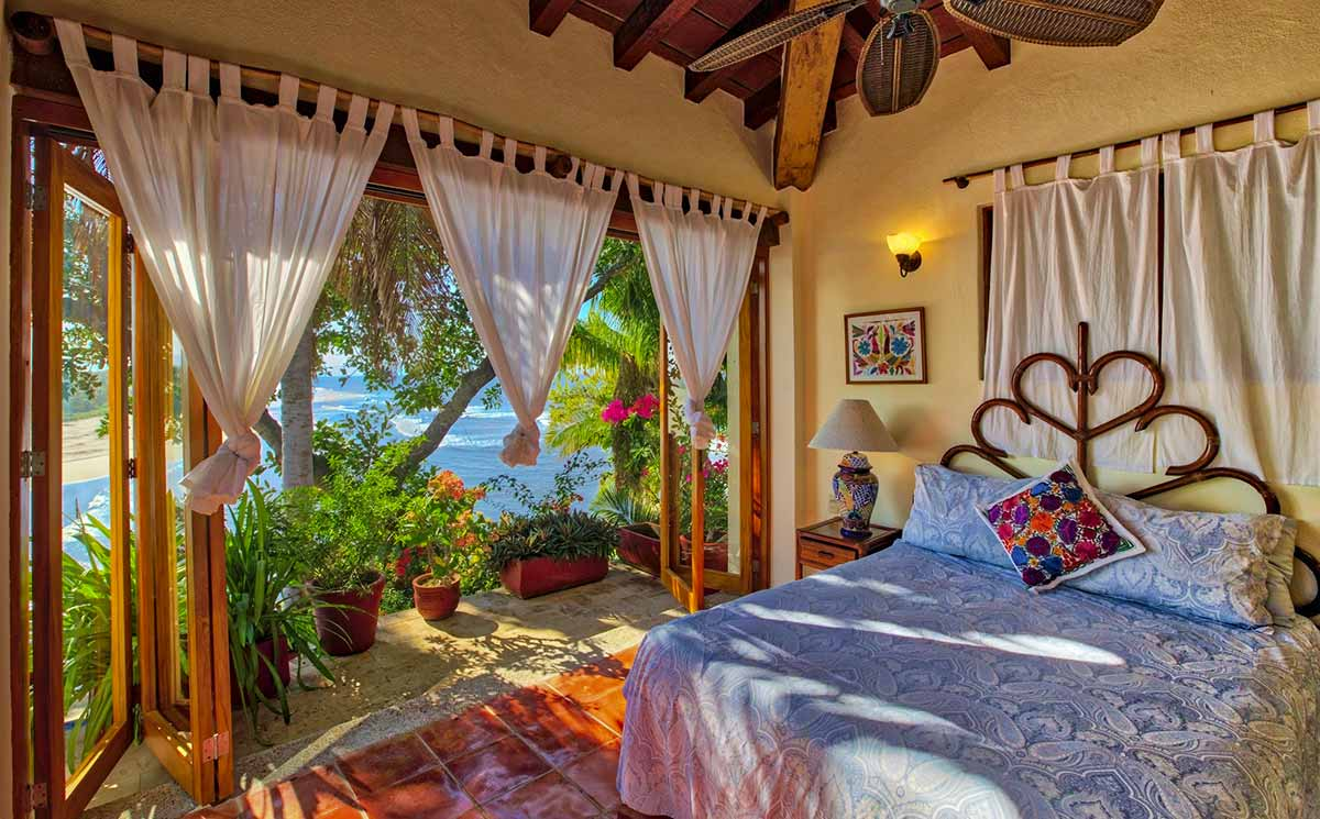 ocean view from a bedroom