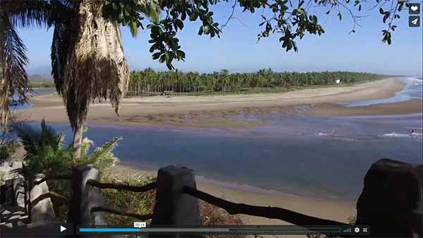 Nuestra playa limpia y el océano