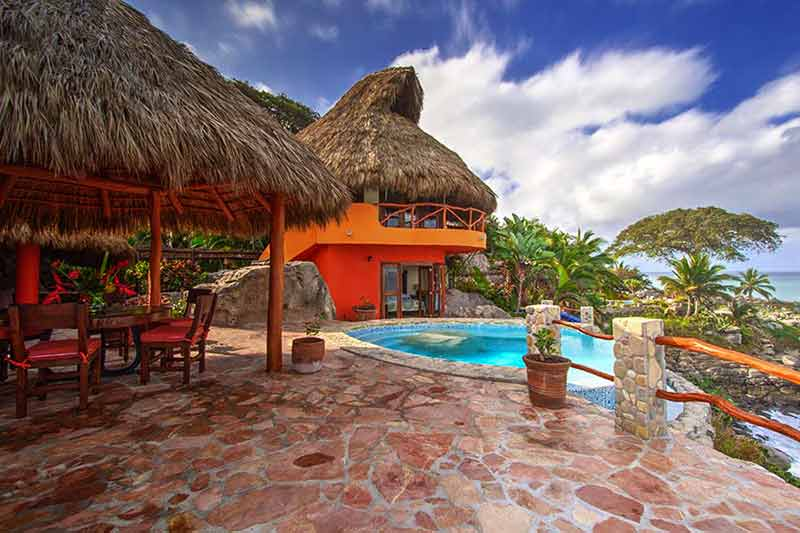 Casa Iguana, romantic getaway Nayarit