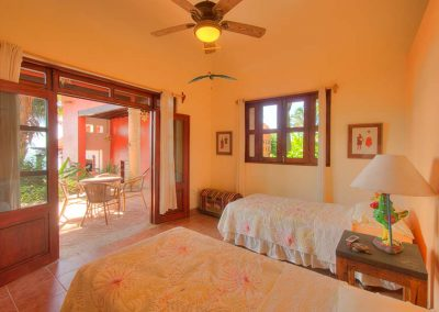 3rd bedroom Villa Custodio