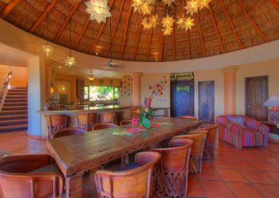 Living area Casa Celeste