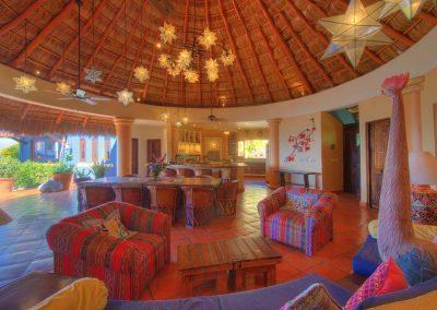 Inside living area Casa Celeste