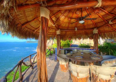 Oceanfront vacation rental in Mexico