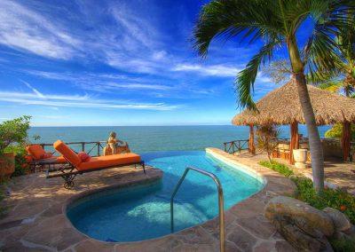 Private pool Casa Celeste