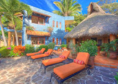Terrace vacation rental Casa Celeste